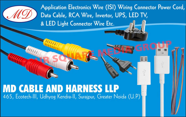 Led Light Connector Wires, Electronic Wires, Wiring Connector Power Cords, Data Cables, RCA Wires, Inverter Wires, UPS Wires, Led TV Wires