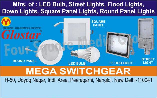 Led Lights, Led Bulbs, Led Street Lights, Led Flood Lights, Led Down Lights, Led Square Panel Lights, Round Panel Lights, Led Round Panels