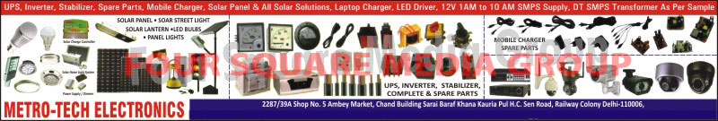 Led Lights, Led Bulbs, Panel Lights, Solar Panels, Solar Street Lights, Solar Lanterns, Solar Charge Controllers, Solar Home Light Systems, Power Supply, Solar Products, Dimmers, UPS, Inverters, Stabilizers, UPS Spare Parts, Inverter Spare Parts, Stabilizer Spare Parts, Mobile Charger Spare Parts, CCTV, Laptop Chargers, Led Drivers, SMPS Supply, DT SMPS Transformers, CFL Circuits, Industrial AC Fans, Industrial DC Fans, Rickshaw Charger Spare Parts, Led TV, Mobile Charger Accessories, Flood Lights, Street Lights, High Bay Lights, Solar Inverters, Power Bank Headphones, Solar Mobile Chargers, Voltmeters, Volt Meters, Transformers, Rotary Switches, Relays