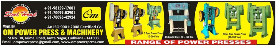 Power Presses, C Type Power Press, Hydraulic Press, Pillar Type Power Press