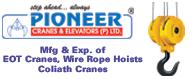 Pioneer Cranes & Elevators  P Ltd