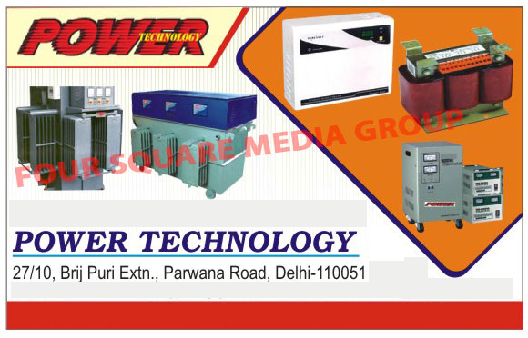 Servo Voltage Stabilizers, Automatic Voltage Stabilizers, Manual Voltage Stabilizers, Isolation Transformers, Auto Variable Transformers, Online UPS, Solar Lights, Inverters, HT AVR Transformers, LT AVR Transformers, Power Distribution Panels
