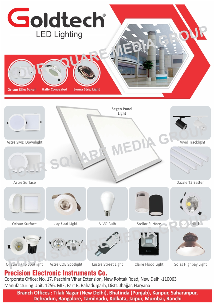 Led Lights, Slim Panel Lights, Concealed Lights, Strip Lights, SMD Down Lights, Surface Lights, Track Lights, T5 Batten Lights, Spot Lights, Led Bulbs, Surface Panel Lights, Spot Lights, Deep Spot Lights, COB Spot Lights, Street Lights, Flood Lights, High Bay Lights