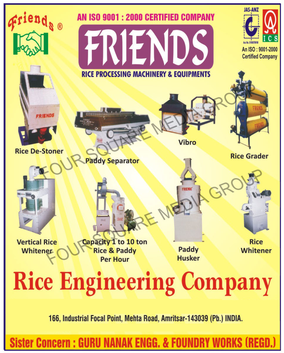 Rice Processing Machinery   Rice Processing Equipments