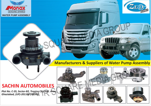 Water Pump Assembly, Clutch Brake, Brake Lining, Truck Parts, Tractor Parts