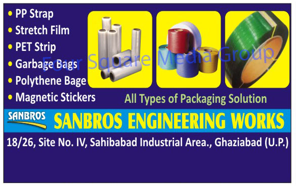 Magnetic Stickers, Stretch Films, PP Straps,Stickers, Magnetic Dots, Magnetic Gifts, Magnetic Roll, Magnetic Tape, Flexible Magnets, Printable Magnetic Paper, Magnetic Paint, Strapping Seals, Copper Ring Terminals, Pet Strap, Box Tapes, PPP Straps, Pet Strips, Polythene Bags, Garbage Bags, Packaging Solution