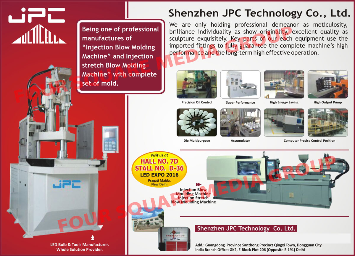 Led Industry Injection Blow Moulding Machines, Led Industry Injection Stretch Blow Moulding Machines, Led Industry Injection Blow Molding Machines, Led Industry Injection Stretch Blow Molding Machines