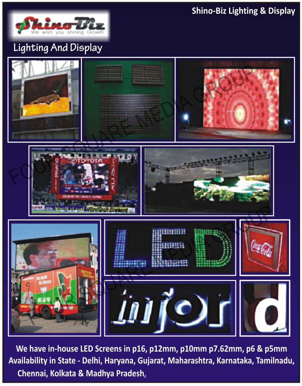 LED Screens, LED Displays, LED Signboard,Indoor Led Screen, Outdoor Led Screen, Signage, Mobile Van Led Screen