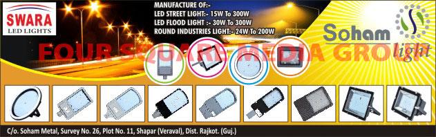 Led Lights, Led Street Lights, Led Flood Lights, Round Industrial Lights