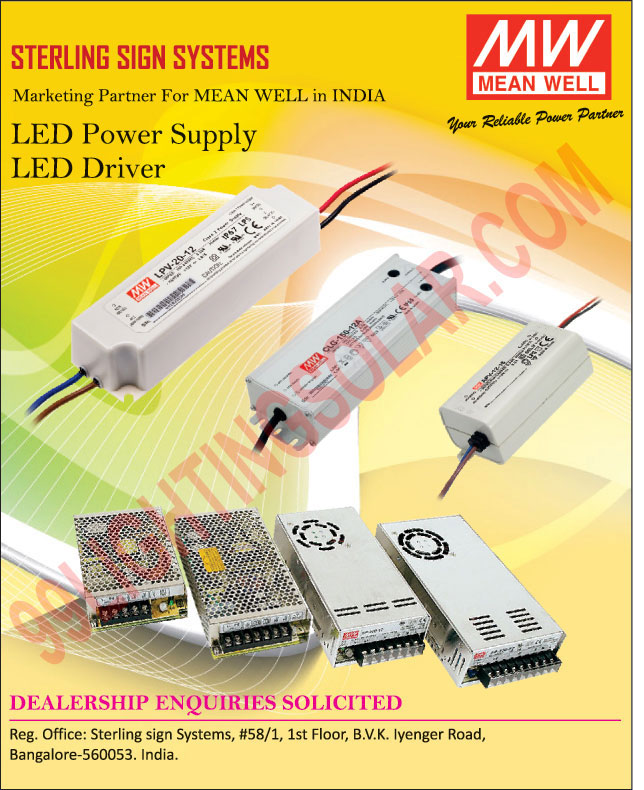LED Power Supply, LED Drivers,Led Modules, Led Strips, Smps, High Reliability Miniature, Constant Voltage Switch Power Supply