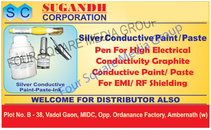 Silver Conductive Paints, Silver Conductive Pastes, Pen for High Electrical Conductivity, Graphite Conductive Paint For EMI Shielding, Graphite Conductive Paste For RF Shielding, Graphite Conductive Paste For EMI Shielding, Graphite Conductive Paste For RF Shielding, Silver Conductive Inks