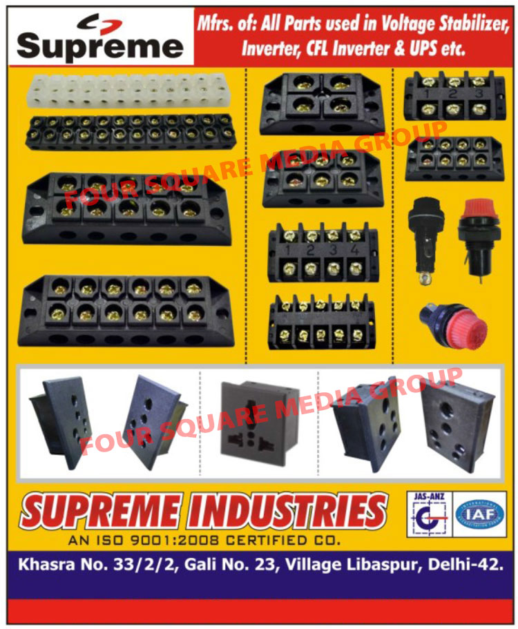Voltage Stabilizer Parts, Inverter Parts, UPS Parts, CFL Inverter Parts,Mixi Rotary Switch, Rotary Switch, Electrical Equipments, Cable Terminals, Cable Lugs, Cable Socket