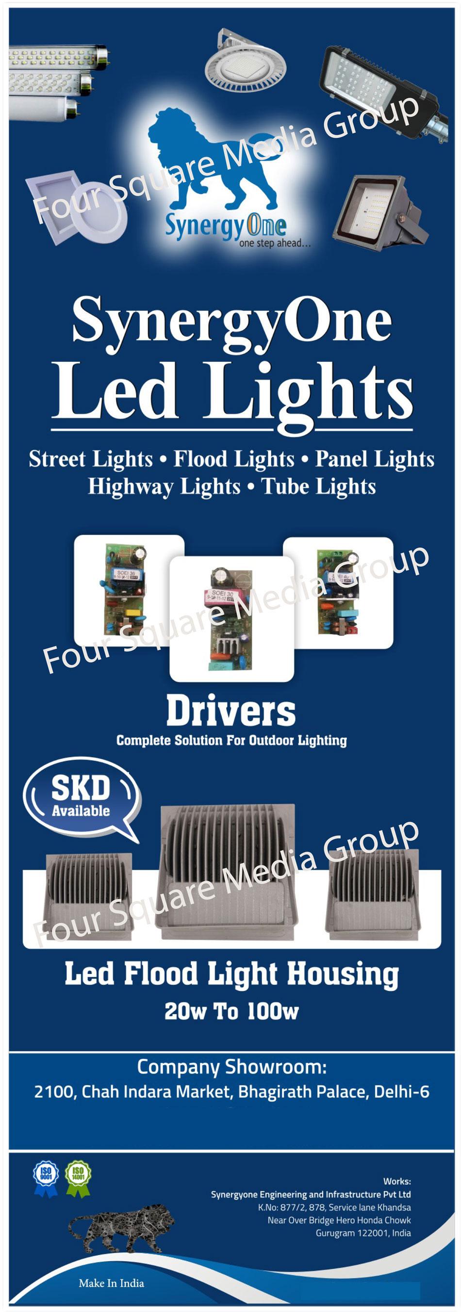 Led Lights, Street Lights, Flood Lights, Panel Lights, High Bay Lights, Tube Lights, Led Drivers, SKD Led Lights, Led Flood Light Housings