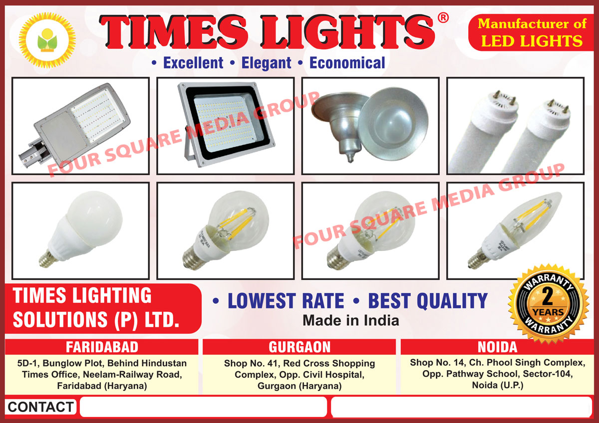 Led Lights, Led Bulbs, Led Tube Lights, Led Street Lights