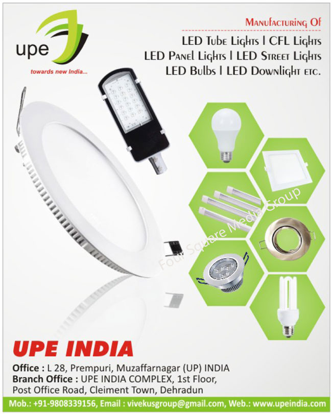 Led Lights, Led Tube Lights, CFL Lights, Led Panel Lights, Led Street Lights, Led Bulbs, Led Down Lights