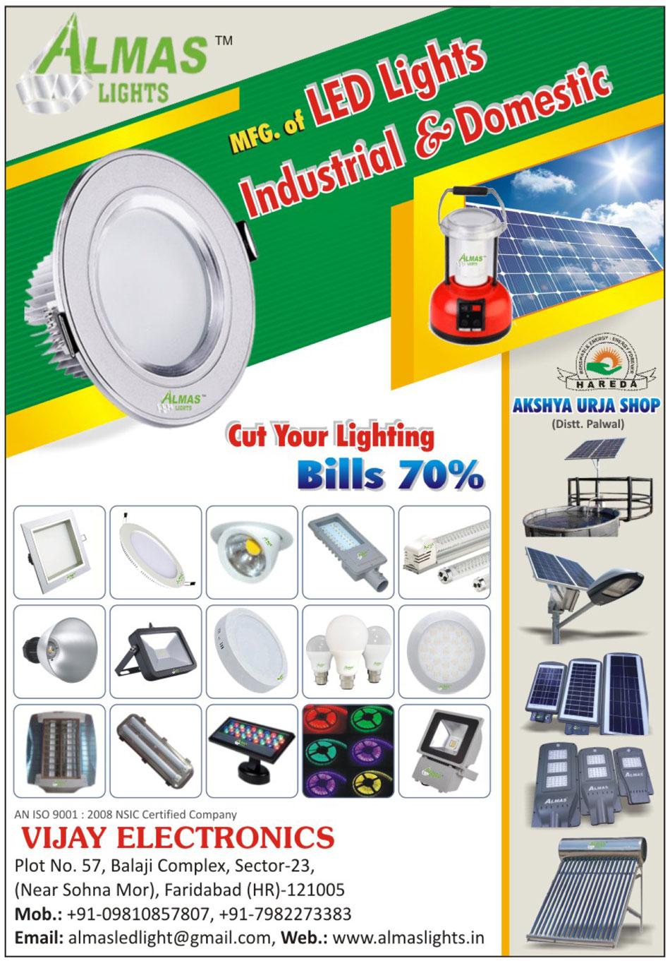 Led Lights, Industrial Led Lights, Domestic Led Lights